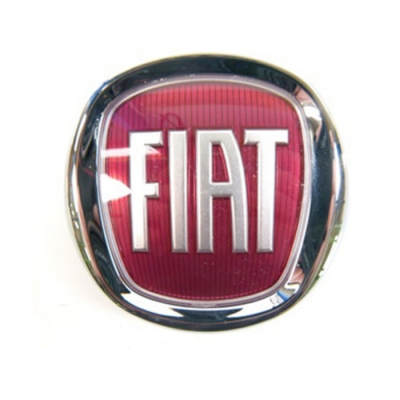 fiat 500 l original emblem logo vorne k hlergrill frontemblem s. Black Bedroom Furniture Sets. Home Design Ideas