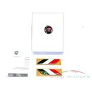Fiat original Badge Tricolore Italian Wing Badges Wings...